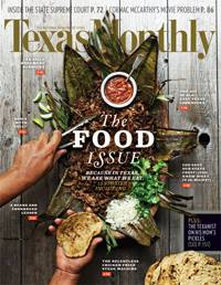Texas Monthly December 2013 Food Issue